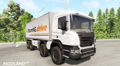 Scania 8×8 heavy utility truck v 2.0 [0.8.0], 1 photo